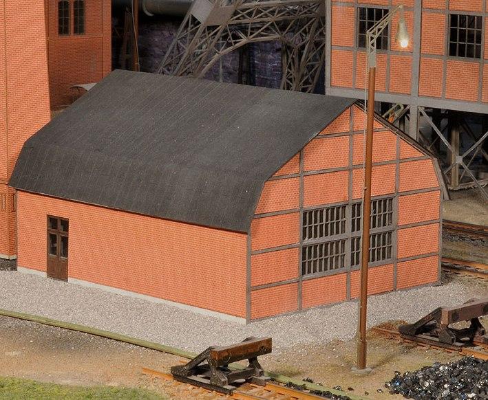 Small Factory Building Lasercut World By Joswood Gmbh