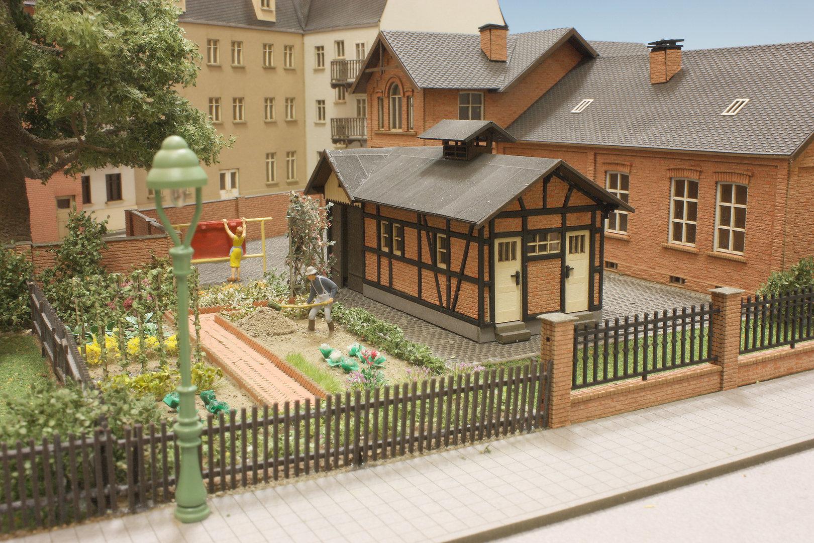 Kleintierstall Garten Hinterhof