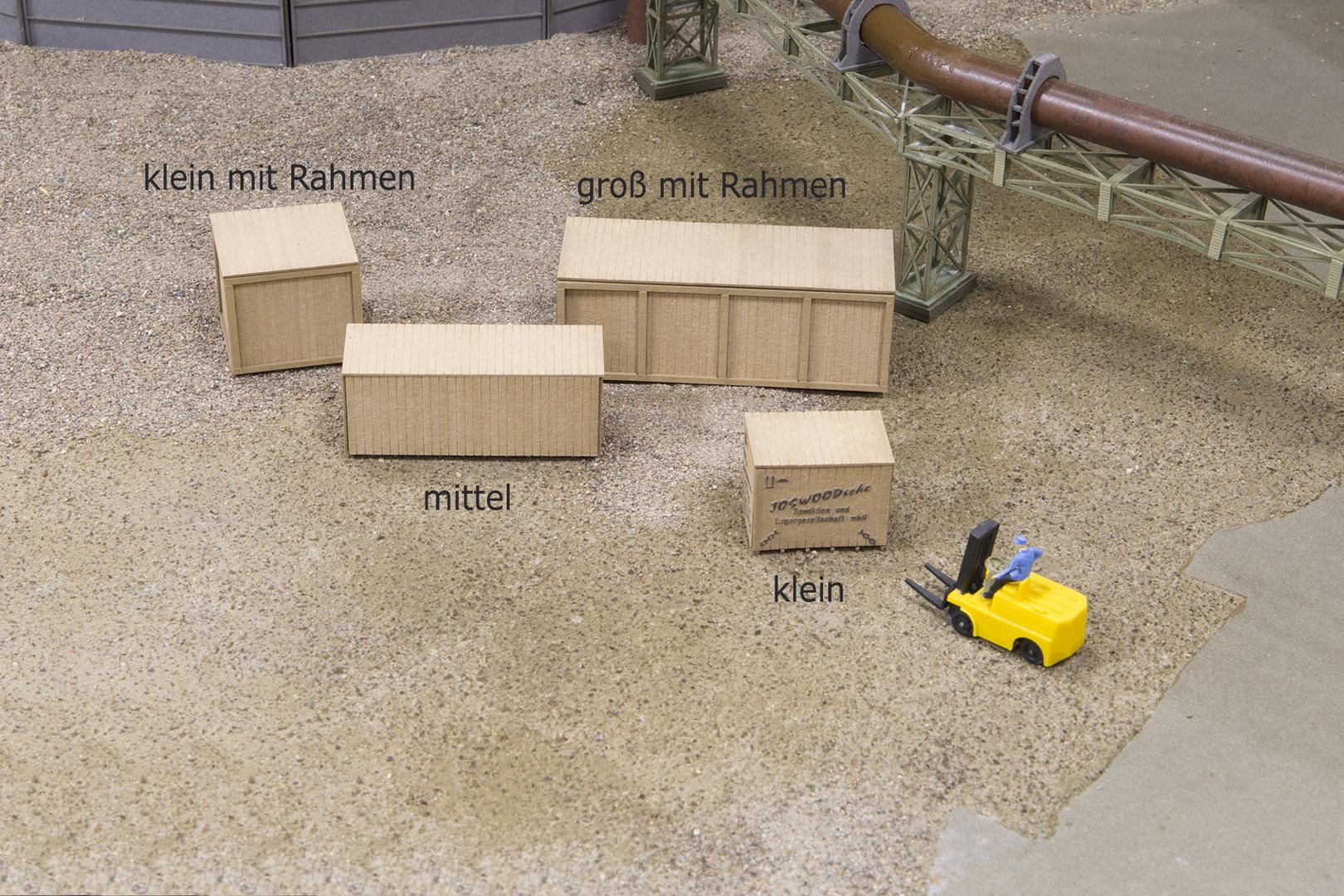Kiste klein mit Rahmen \